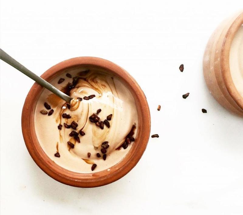 القهوة واللبن