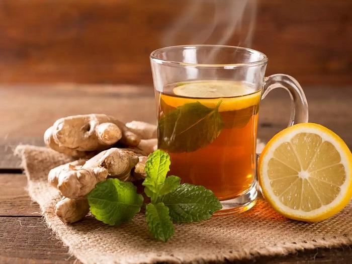 فوائد الزنجبيل والشاي