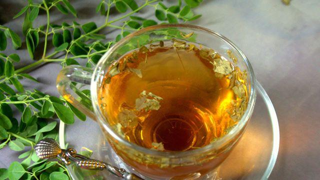كيفية تحضير شاي المورينجا