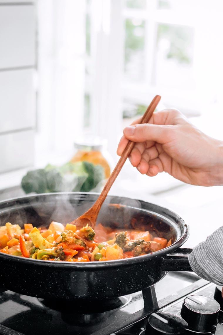 خسارة الوزن برجيم الطعام الساخن