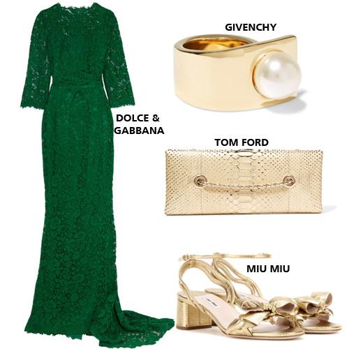 9a900fc8a طرق تنسيق الفستان الأخضر الراقي مع اكسسوارات شتاء 2017 | مجلة الجميلة