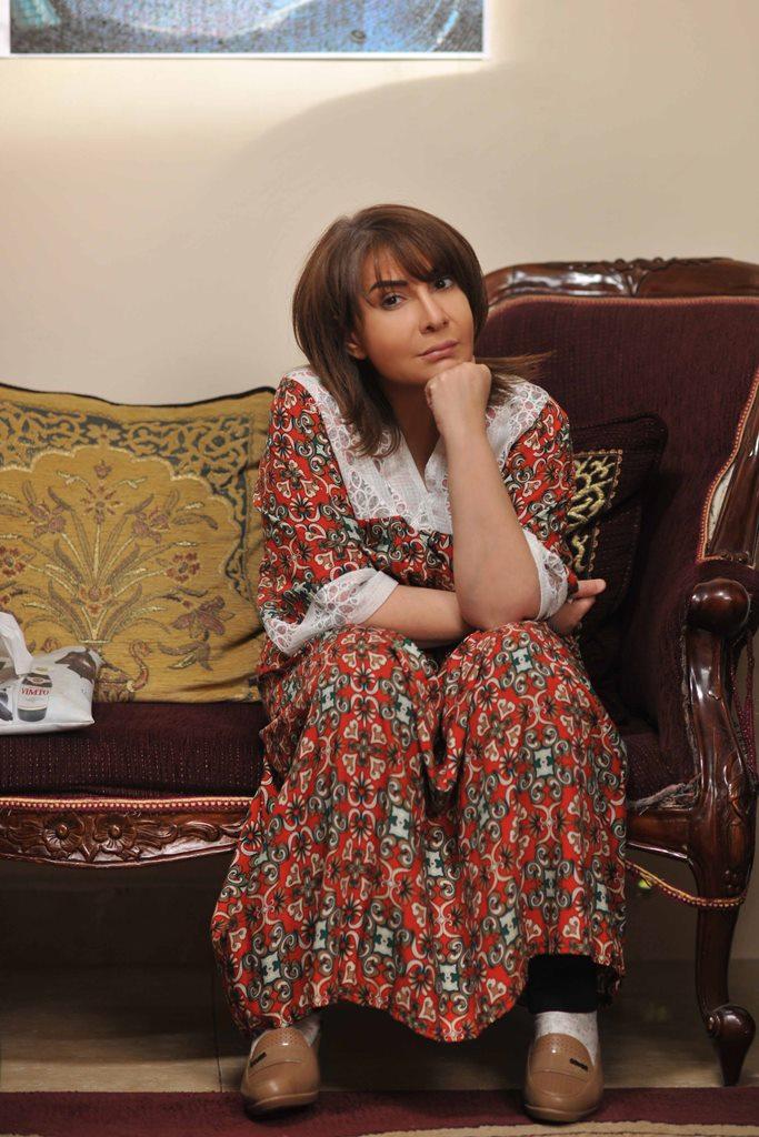 هدى حسين تتحدث عن دورها في الاجتماعية الخليجية أمنيات بعيدة في رمضان مجلة الجميلة