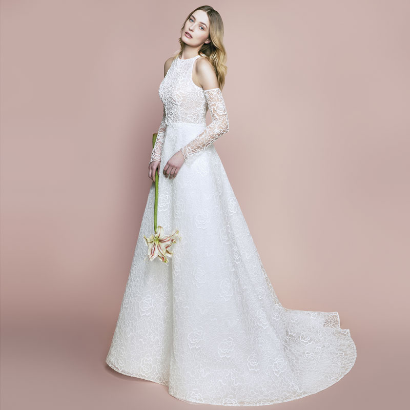 59ecd141f موديلات فساتين زفاف ناعمة و رومانسية 2018 | مجلة الجميلة