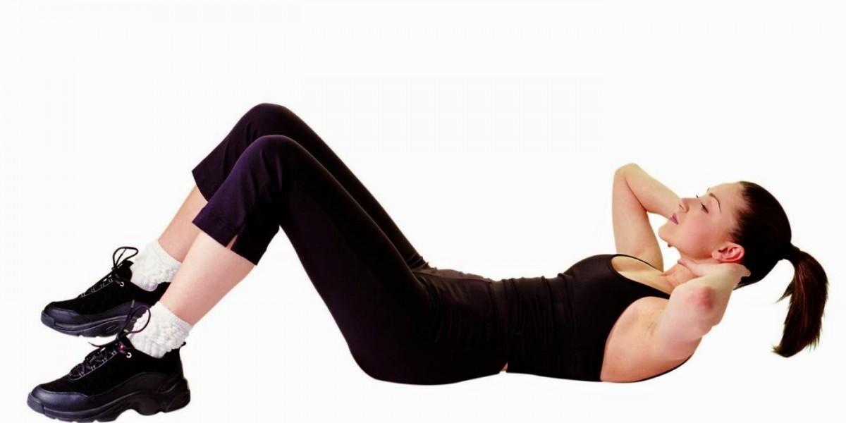 تمرين الحوض والبطن والظهر