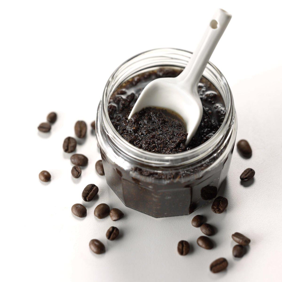 مقشرات القهوة