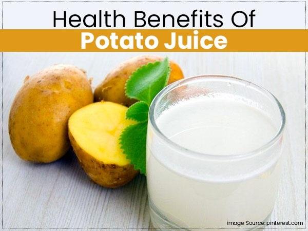 فوائد عصير البطاطس