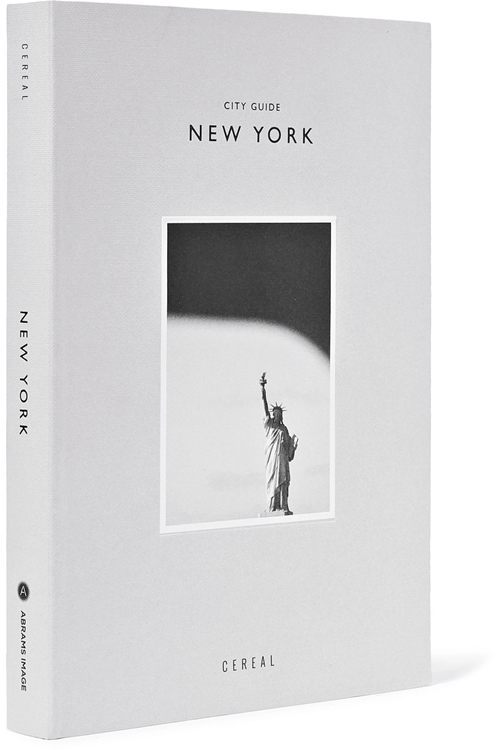 ABRAMSCereal City Guide  New York paperback book