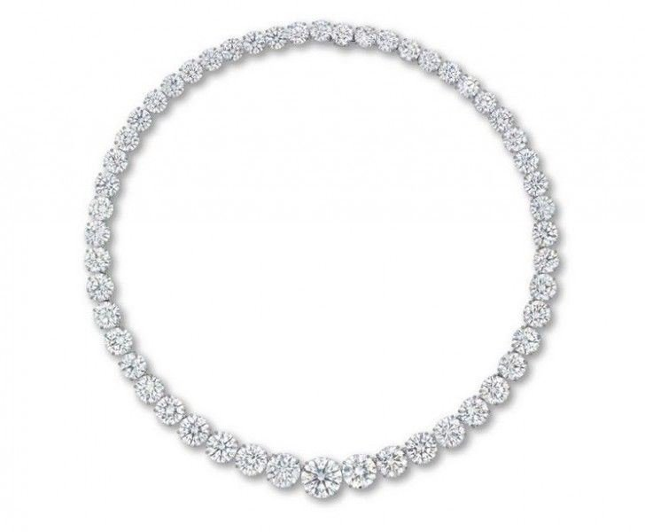 ChristieGÇÖs Diamond Necklace GÇô $8.14 Million