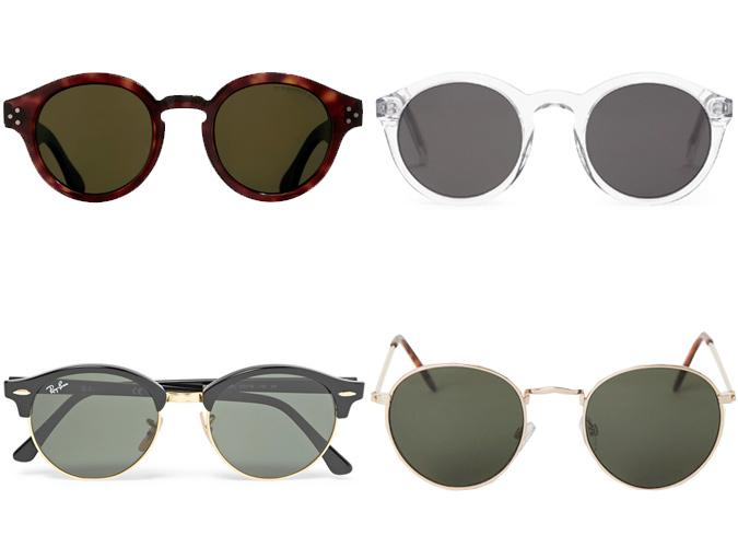 f0979895b يمكن للرجال الذين لديهم وجه دائري، أن يذهبوا إلى العكس، من خلال النظارات  الشمسية الهندسية المتصدرة الموضة لهذا العام؛ فهي مصممة خصيصًا لهم.