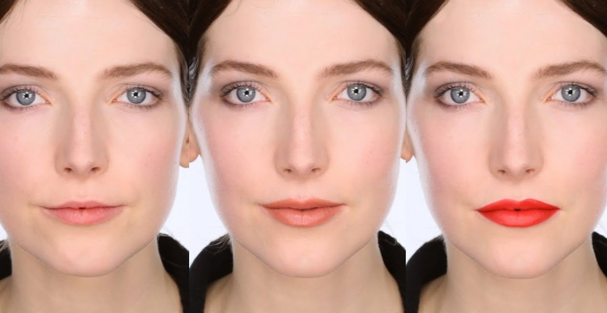 كيفية تصحيح شكل الشفاه والعينين بالمكياج