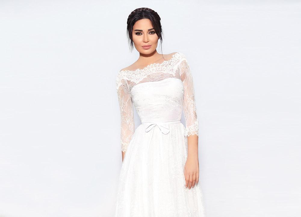 فساتين زفاف سيرين عبد النور تلهمك في يوم العرس