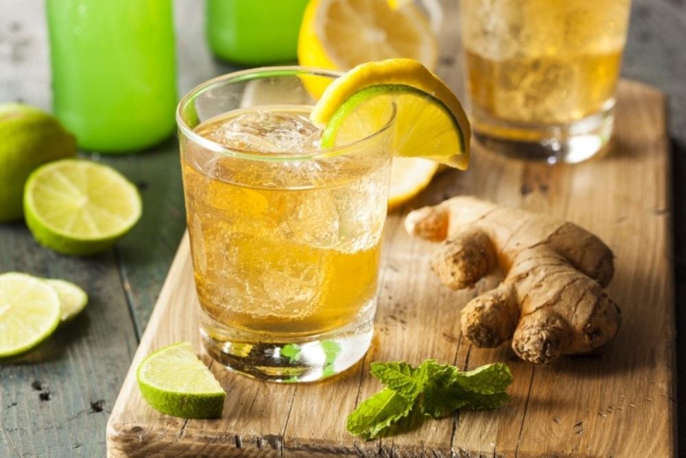 الليمون والزنجبيل