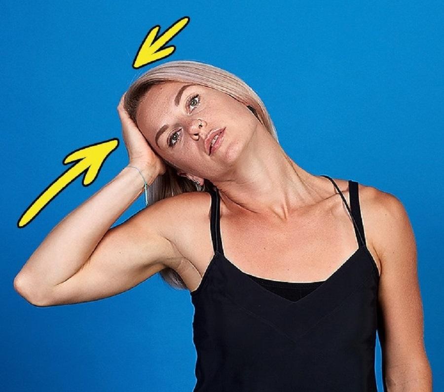 تنحيف الوجه من دون جراحة بتمارين القلم والرقبة السهلة