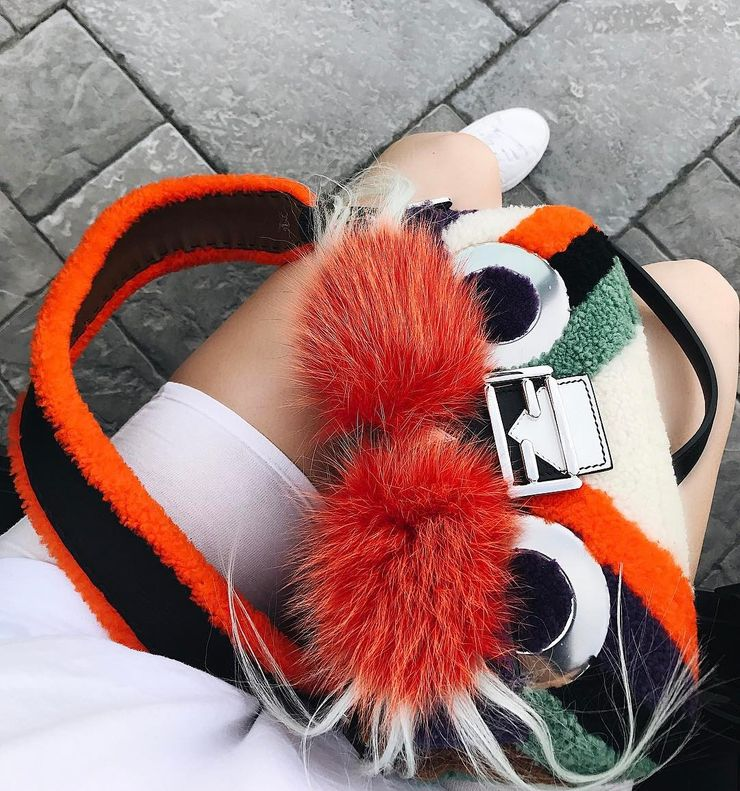 Fendi Furry Baguette