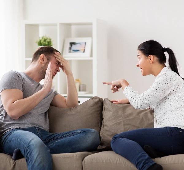 كيف اتعامل مع زوجي العصبي؟