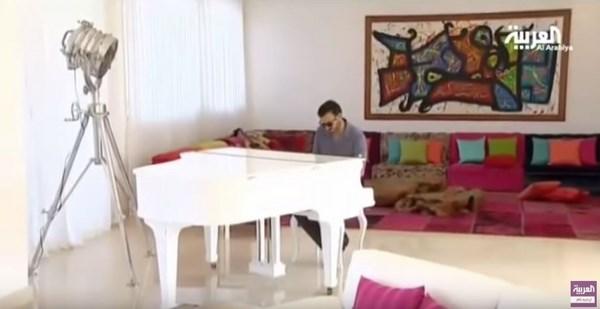 منزل كاظم الساهر في المغرب