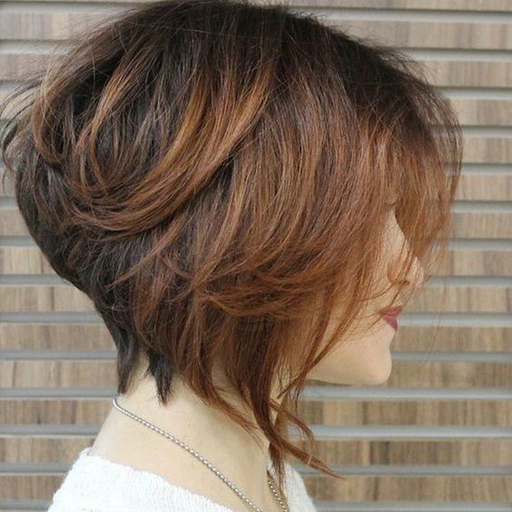 للشعر القصير قصات شعر قصير جديده
