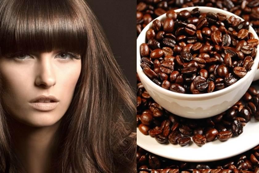 ماسكات من القهوة لترطيب الشعر