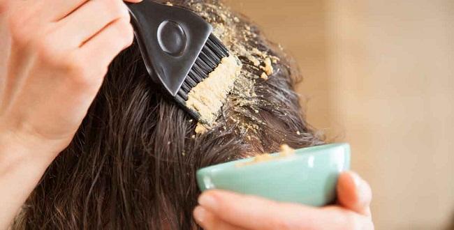 تكثيف الشعر وعلاج تساقطه بالحناء في أسبوع