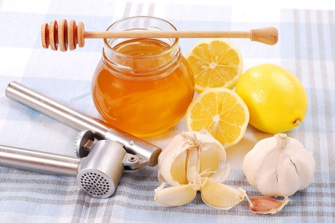 مشروب الثوم والعسل
