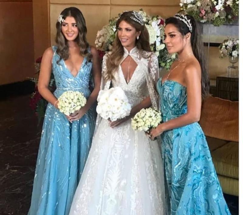 نادين نجيم تحتفل بزفاف صديقتها المقربة ناتالي نصرالله