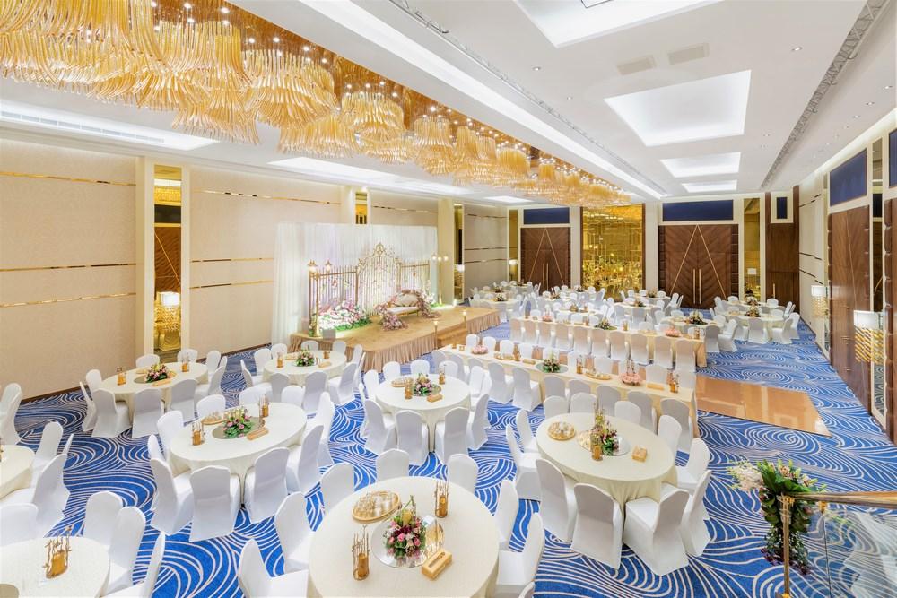 حفلات زفاف لا تنسى في فندق راديسون بلو جدة السلام مجلة الجميلة