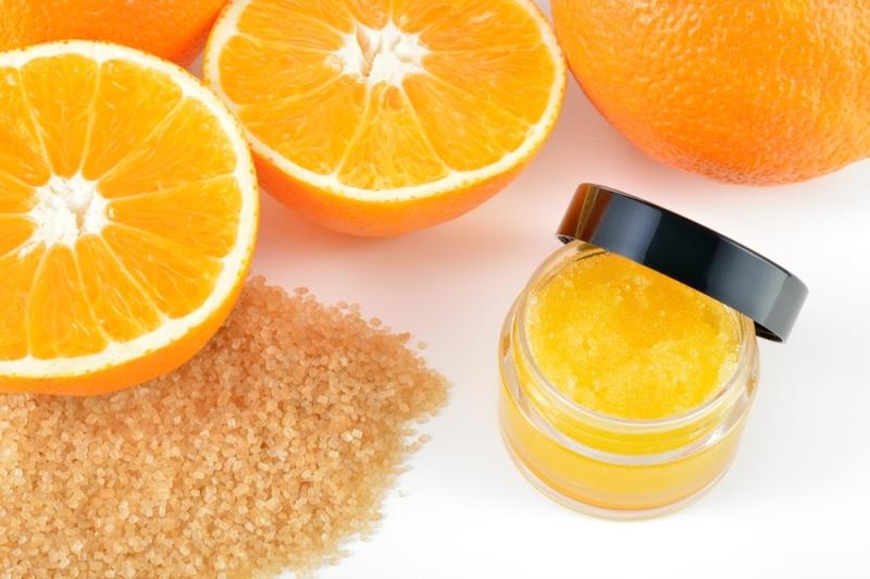 خلطة قشر البرتقال لتقشير البشرة