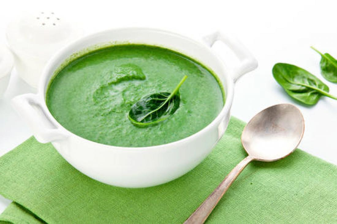 Soup of watercress and mint