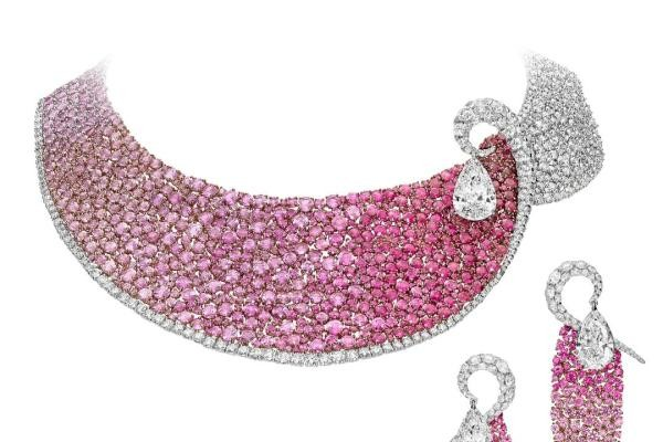BOGHOSSIAN boghossian-les-merveilles-ruby-and-diamond-necklace-and-earrings