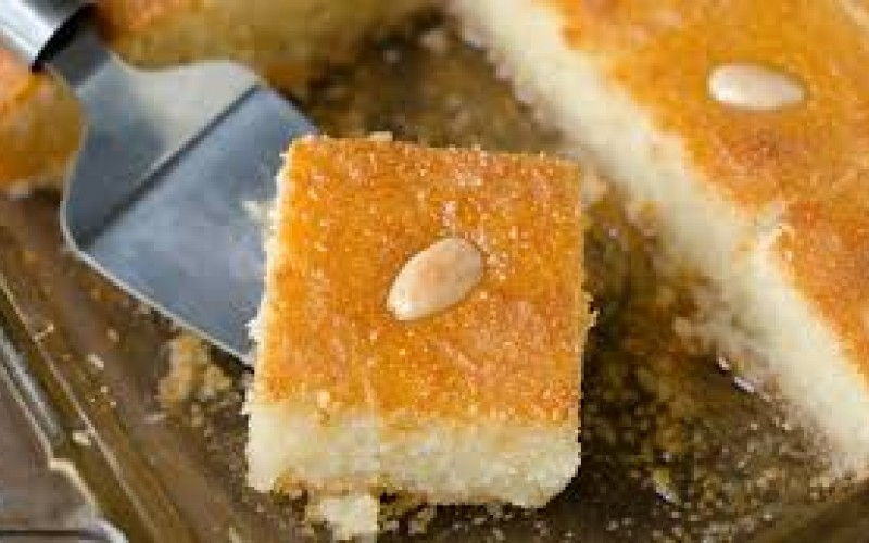 Lebanese Honey Cake