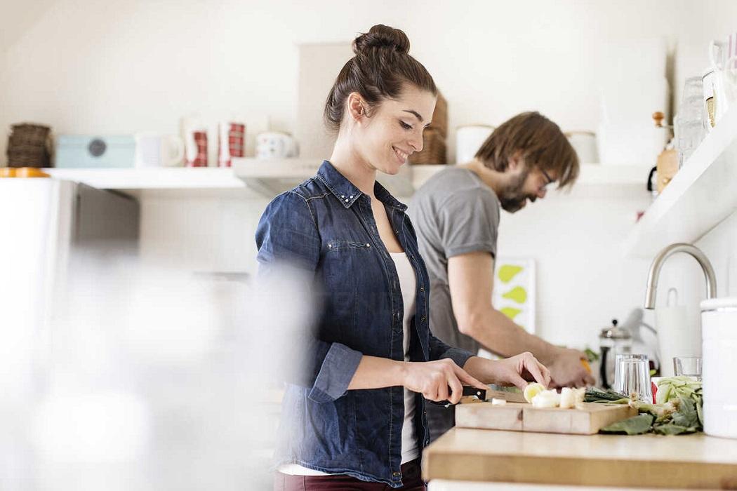الطهو مع الشريك